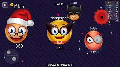 Zeitkiller Emoji.io auf Deutsch