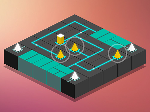 Maze light: Power line puzzle for Android