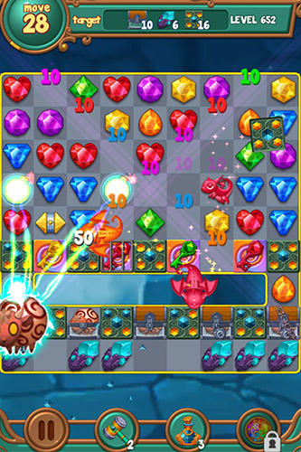 Jewels fantasy: Match 3 puzzle для Android