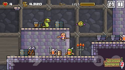 Screenshot Devious dungeon 2 on iPhone