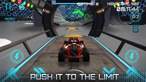Rennspiele Extreme stunt car driver 3D für das Smartphone
