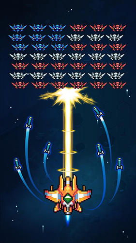 Galaxiga: Classic 80s arcade space shooter screenshot 1