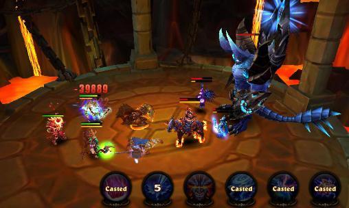 Magic legion: Mists of orcs für Android