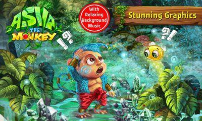 Arcade-Spiele Asva the monkey für das Smartphone