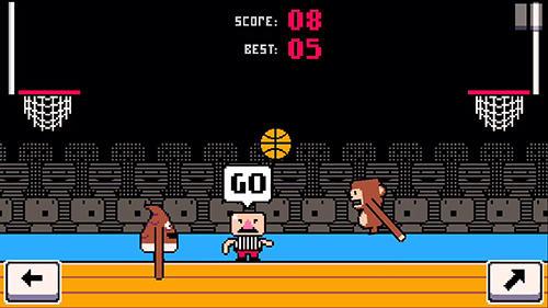 Basketball-Spiele Dunkers: Basketball madness auf Deutsch
