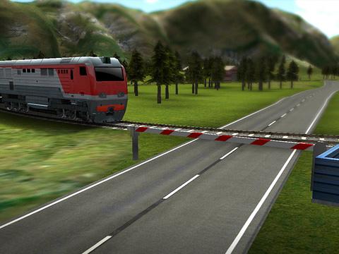 Zugfahrt 3D für iPhone