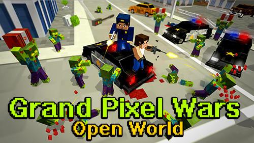 Grand pixel wars: Open world Screenshot