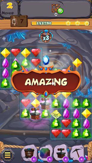 Royal gem rescue: Match 3 Screenshot