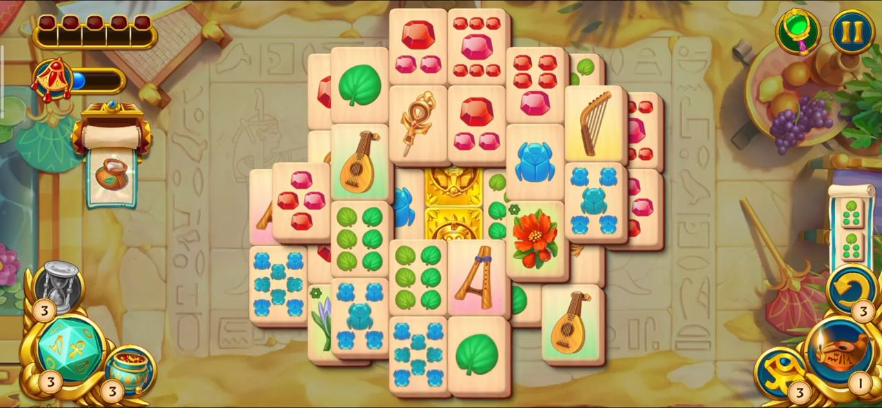 Pyramid of Mahjong: A tile matching city puzzle for Android