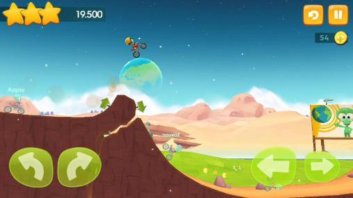 Arcade-Spiele Big bang racing für das Smartphone