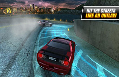 Multiplayer games: download Drift Mania: Street Outlaws to your phone