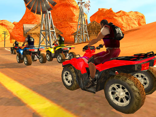ATV quad bike racing mania capture d'écran