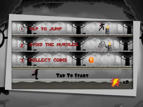 Arcade-Spiele: Lade Erstaunlicher Ninja Strichmann auf dein Handy herunter