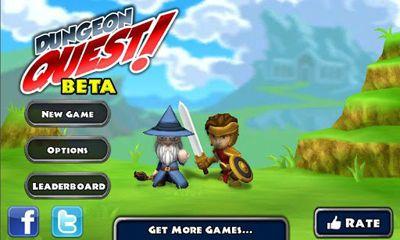 Arcade-Spiele Dungeon Quest für das Smartphone