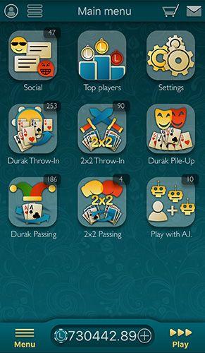 Screenshot Durak Online auf dem iPhone