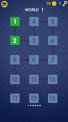 Logikspiele Sneaky snakes für das Smartphone