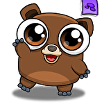Happy bear: Virtual pet game ícone