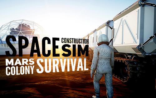 Space construction simulator: Mars colony survival capture d'écran