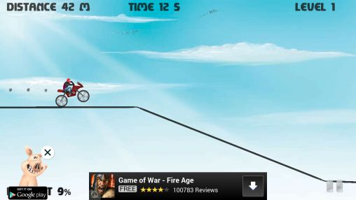 Hill climb bike race for Android