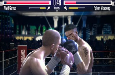 Multiplayer games: download Real Boxing to your phone