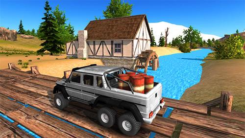 Simulator-Spiele 6x6 offroad truck driving simulator für das Smartphone