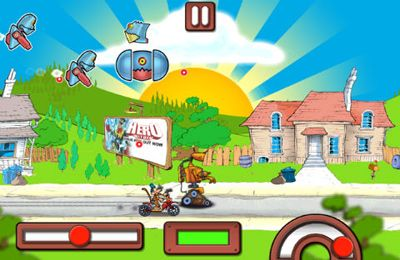 Screenshot Retrobot auf dem iPhone