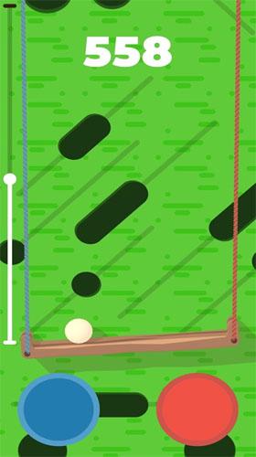 Arcade Don't let the ball fall für das Smartphone