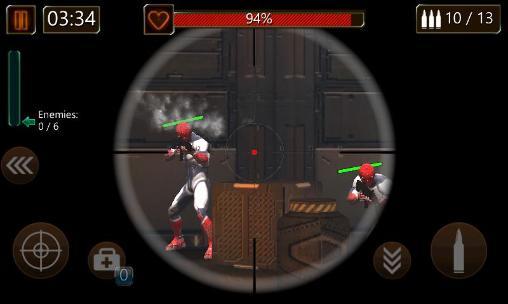 FPS Modern commando: Sniper killer. Combat duty auf Deutsch