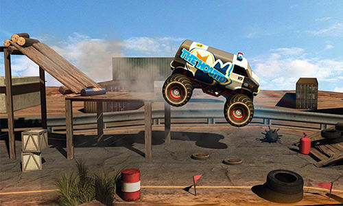 Monster truck rider 3D für Android