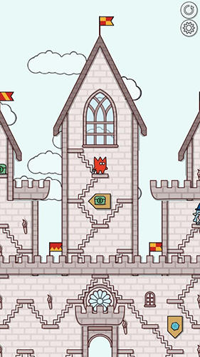 Castles and stairs Screenshot