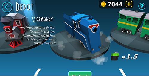 d'arcade Brave train pour smartphone