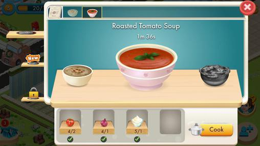 Management games Star chef by 99 games in English