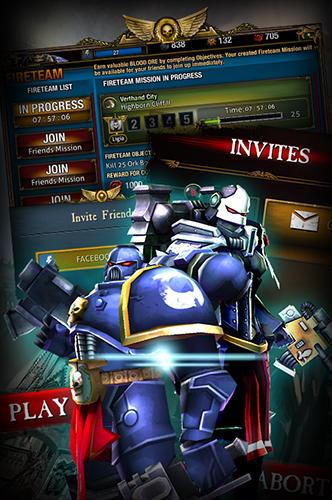 Capturas de tela de Warhammer 40000: Carnage champions