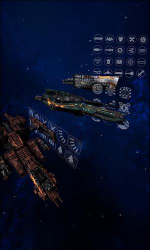 Gargantua: Alpha. Spaceship duel auf Deutsch