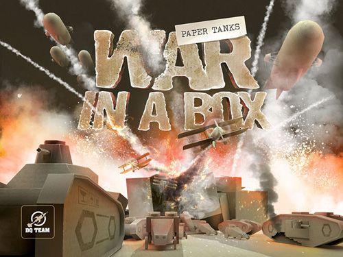 logo Guerra en la caja: Tanques de papel