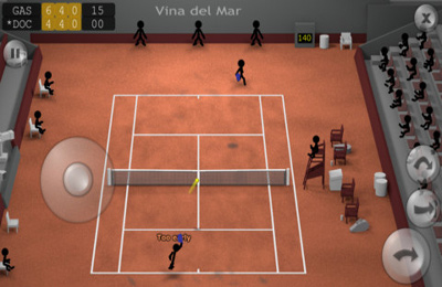 Strichmännchen-Tennis für iPhone