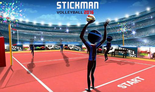Stickman volleyball 2016 скриншот 1