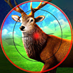 Stag hunting 3D icon