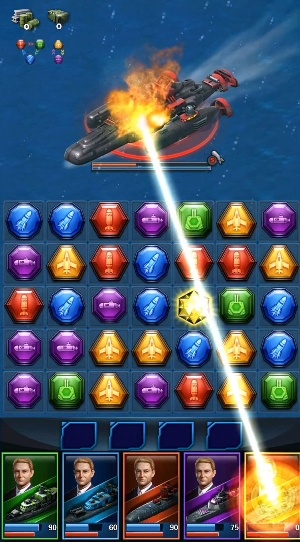 Battleship & Puzzles: Warship Empire para Android