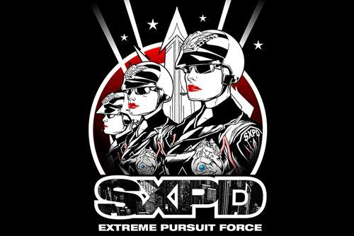 logo SXPD: Extreme Pursuit Force