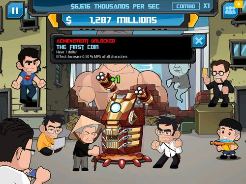 Clicker heroes: Guardians of the galaxy for iPhone for free