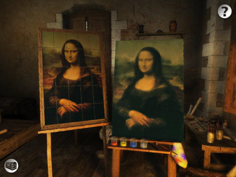 Screenshot Secrets of Da Vinci on iPhone