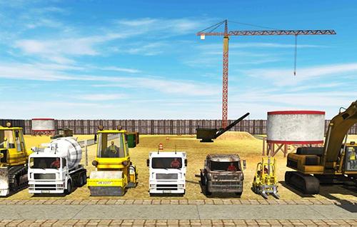 City builder: Construction trucks sim für Android