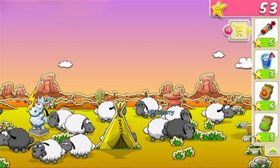 Rätsel Clouds & Sheep auf Deutsch