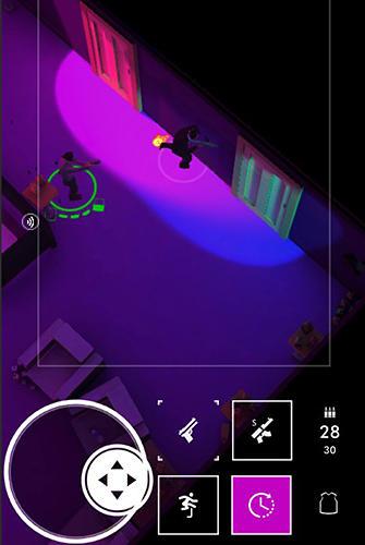 Бродилки (Action): скачать Neon noir: Mobile arcade shooterна телефон