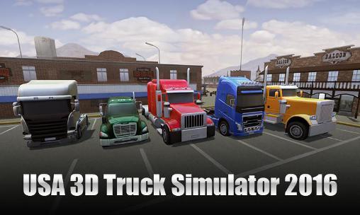 USA 3D truck simulator 2016 capture d'écran 1