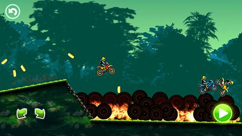 Jungle motocross kids racing para Android