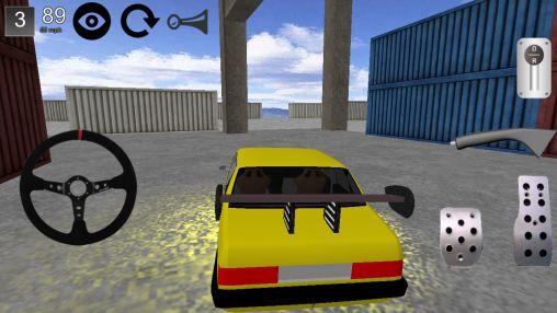 Driftspiele Car drift 3D 2014 auf Deutsch