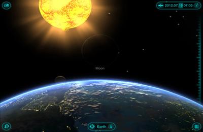 La Balade dans le Système Solaire 3D en russe