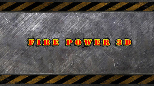 Fire power 3D icon